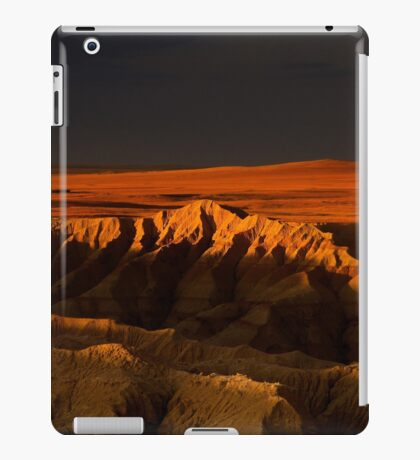 Sunset over Badlands National Park .5 iPad Case/Skin