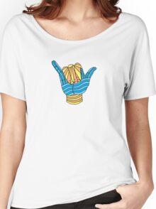 Shaka Surf T Shirt Women's Relaxed Fit T-Shirt