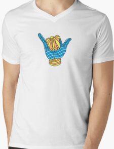 Shaka Surf T Shirt Mens V-Neck T-Shirt