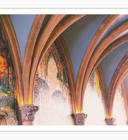 Inside the Castle Walls Sticker