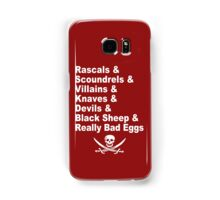 A Pirate's Life For Me Samsung Galaxy Case/Skin