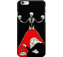 Ghost Committee By Allie Hartley  iPhone Case/Skin