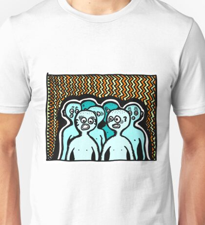 Where Are We? COLORIZED Unisex T-Shirt