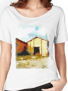 Island Caprera: military archeology Women's Relaxed Fit T-Shirt