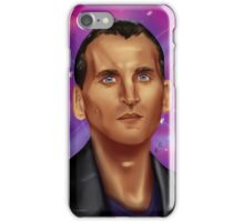 9th Doctor-Space Background iPhone Case/Skin