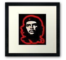 Che Guevara Hee. Framed Print