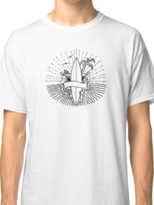 Surfing Hawaii T Shirt Classic T-Shirt