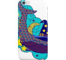 Space wizard whale iPhone Case/Skin