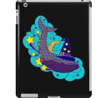 Space wizard whale iPad Case/Skin