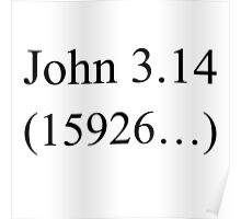 John 3:16 parody, Pi design. Poster