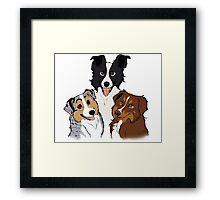 Trio - Custom Framed Print