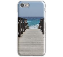 Menorca beach iPhone Case/Skin