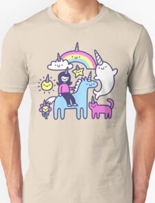 Unicorns Everywhere! Unisex T-Shirt