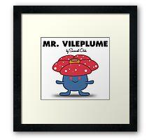 Mr. Vileplume Framed Print