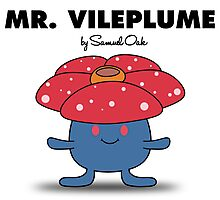 Mr. Vileplume Photographic Print