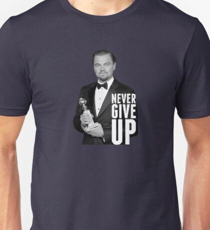 Leonardo di Caprio Oscars 2016 Unisex T-Shirt