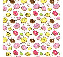Dreamy Donuts Photographic Print