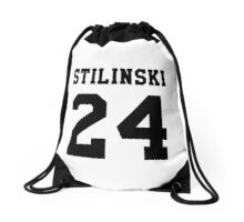 Stilinski 24, Stiles stilinski - Black Drawstring Bag