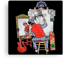 Marty Future Self Portrait Canvas Print
