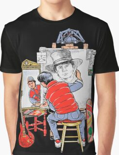 Marty Future Self Portrait Graphic T-Shirt