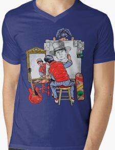 Marty Future Self Portrait Mens V-Neck T-Shirt