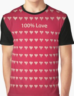 Love series - 100 Love Graphic T-Shirt