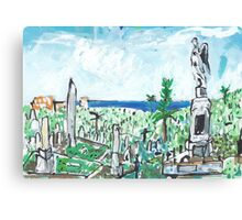 Waverley Cemetery Canvas Print