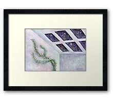 Quiet Space, Happy Place  Framed Print