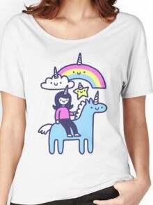 Unicorn Buds Women's Relaxed Fit T-Shirt