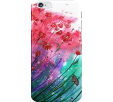 Flowers - Dancing Poppies iPhone Case/Skin