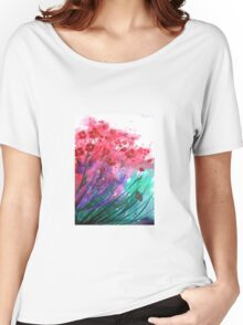 Flowers - Dancing Poppies Women's Relaxed Fit T-Shirt