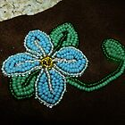 Beaded Flower by MaeBelle