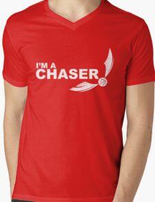 I'm a Chaser - WHITE Mens V-Neck T-Shirt