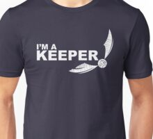 Im a Keeper - white Unisex T-Shirt
