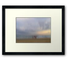 Watching the Light Fade Away Framed Print