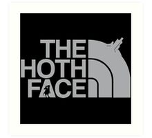 The Hoth Face Art Print