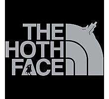 The Hoth Face Photographic Print