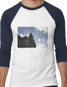 St. Paul's Cathedral in London Men's Baseball ¾ T-Shirt