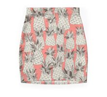 pineapple blush coral Mini Skirt