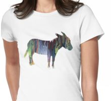Donkey Womens Fitted T-Shirt