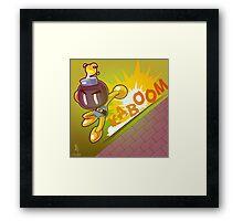 0048 - Bobomberman Framed Print