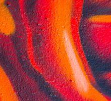 Graffiti Rose Sticker