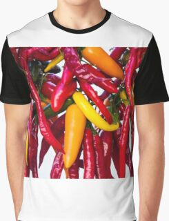 Peppers - Farmers Market - Madison - Wisconsin Graphic T-Shirt