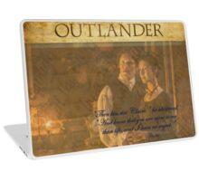 Outlander Quote/Jamie & Claire Fraser Laptop Skin