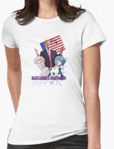 Make Anime Great Again Womens Fitted T-Shirt