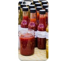 Hot Sauces - Madison Farmers Market iPhone Case/Skin