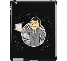 Twilight Zone Boy iPad Case/Skin
