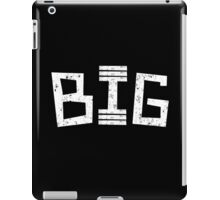 Big in the gym iPad Case/Skin