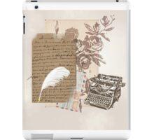 A Writer's World iPad Case/Skin