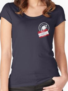Crewman #6 - NSEA Protector Women's Fitted Scoop T-Shirt